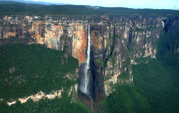 Angel Falls. If this ever freezes, I'm totally climbing it. Will be the most epic multi-pitch ice ever!