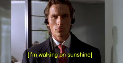 and doesn't he just scream it, love this movie and I know, that is sick and wrong, but I don't want to be right.