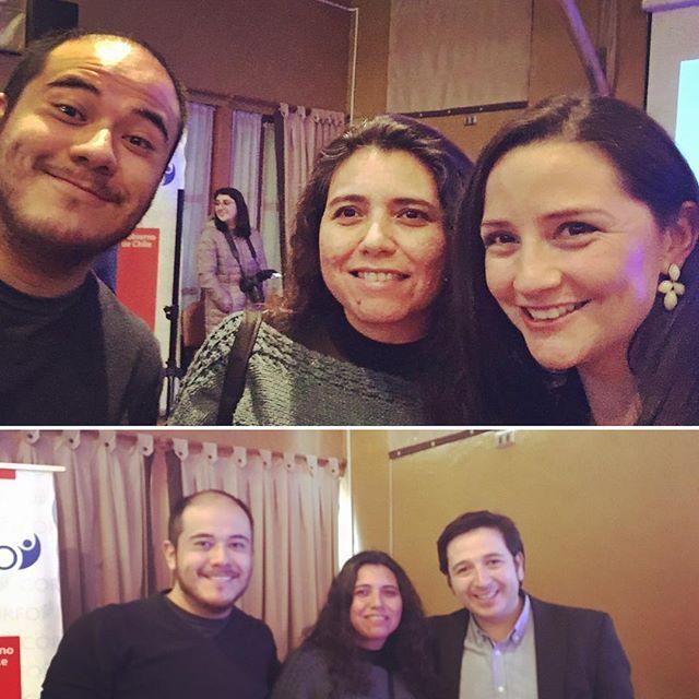 En el tercer encuentro MIPE SERCOTEC, con grandes emprendedores, además de Andrea Aristegui que conoce Sol Limón 😱😱😄 wujuuu!! Y…
