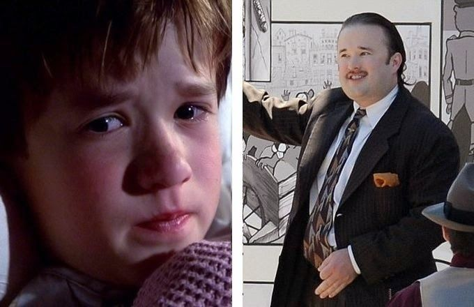 This chubby boy is actually Haley Joel Osment, the kid from Sixth Sense