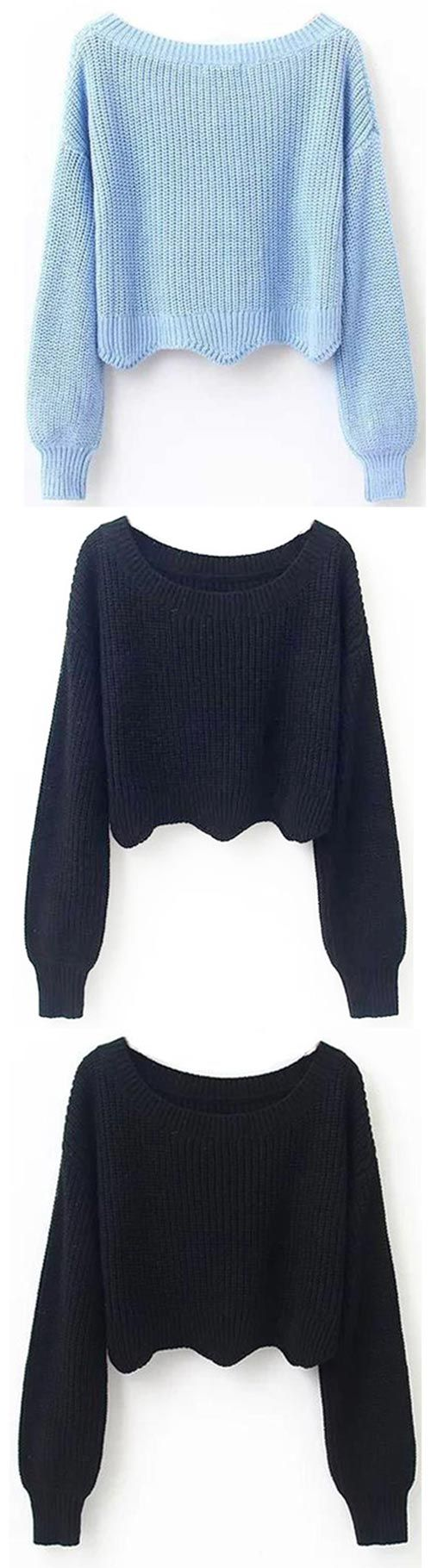 Up to 10% off! Check it, $23.99 Now! You are clearly living right if you manage to snatch up one these wave sweater! People should take lessons from you! Because this sweater is totally fab! Get more choices at Cupshe.com !