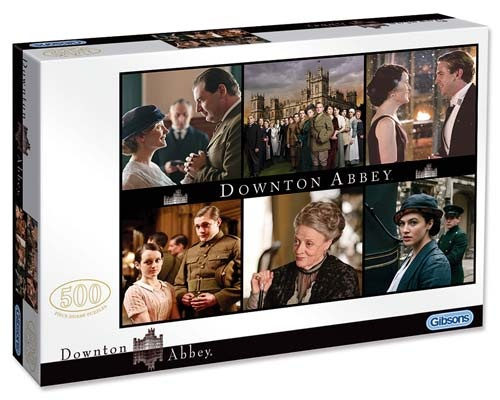 Downton Abbey 2 (500pc - 3034) Jigsaw Puzzle by Gibsons  from PuzzleFolk