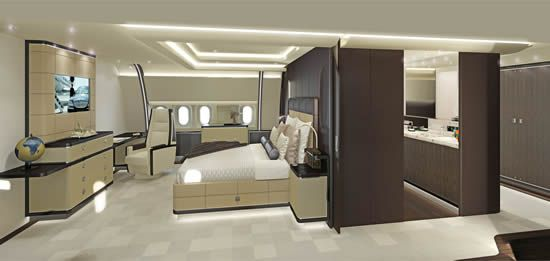 Timeless To Visionary is the theme of two cabin interior designs for wide-body aircraft created by the Jet Aviation Basel Design Studio: http://www.jetoptionsjetcharter.com/jetcharterblog/timeless-to-visionary-is-the-theme-of-two-cabin-interior-designs-for-wide-body-aircraft-created-by-the-jet-aviation-basel-design-studio/