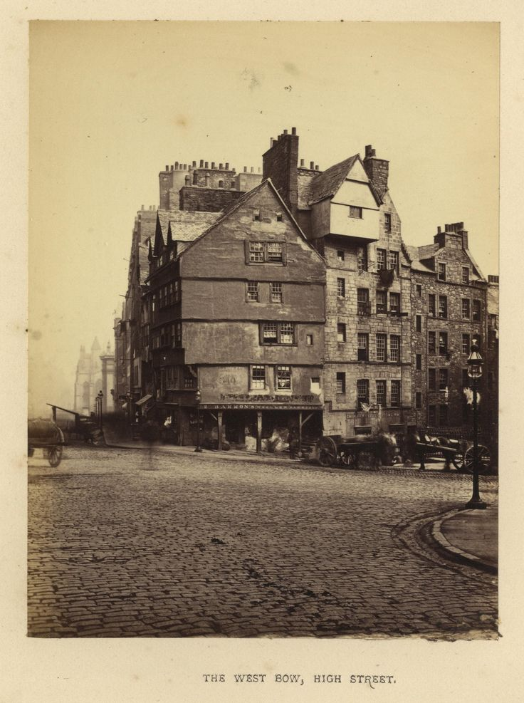 "https://flic.kr/p/DnzKDT | Archibald Burns - The West Bow, High Street,1868 | Maker: Archibald Burns (1831-1880) Born: Scotland Active: Scotland Medium: albumen print Size: 3 1/8"" x 4 1/8"" Location:   Publication: R.M. Ballantyne, Photographs of Edinburgh, Andrew Duthie, Glasgow, 1868, pg 55  Other Collections:  Notes:   To view our archive organized by Collections, visit: OUR COLLECTIONS  For information about reproducing this image, visit: THE HISTORY OF PHOTOGRAPHY ARCHIVE"