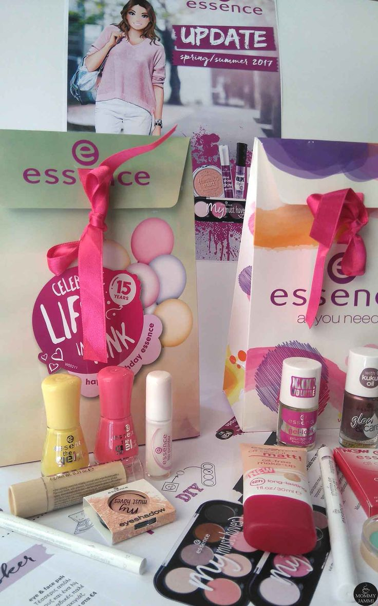 Δοκίμασα υπέροχα προϊόντα essence cosmetics και μία τυχερή θα τα κερδίσει!