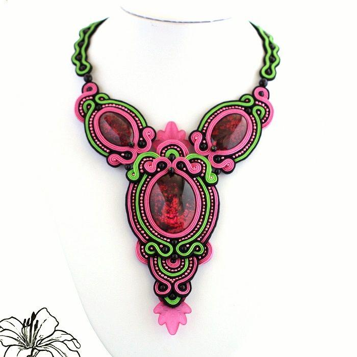 sutaškové šperky | Sutaškový náhrdelník Francesca | Z-ART handmade