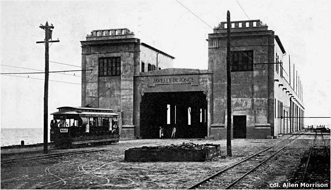 THE TRAMWAYS OF PUERTO RICO tramway extended from the Playa to the wharf (el muelle). 1914