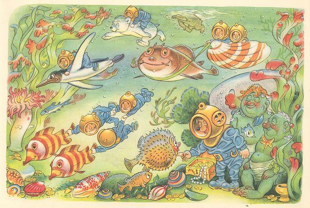 Mecki im Schlaraffenland Märchen/Abenteuer im Comic-Stil Zeichner: Roland Escher Copyright by Diehl-Film / Hör Zu Deutschland 1958 ex libris MTP