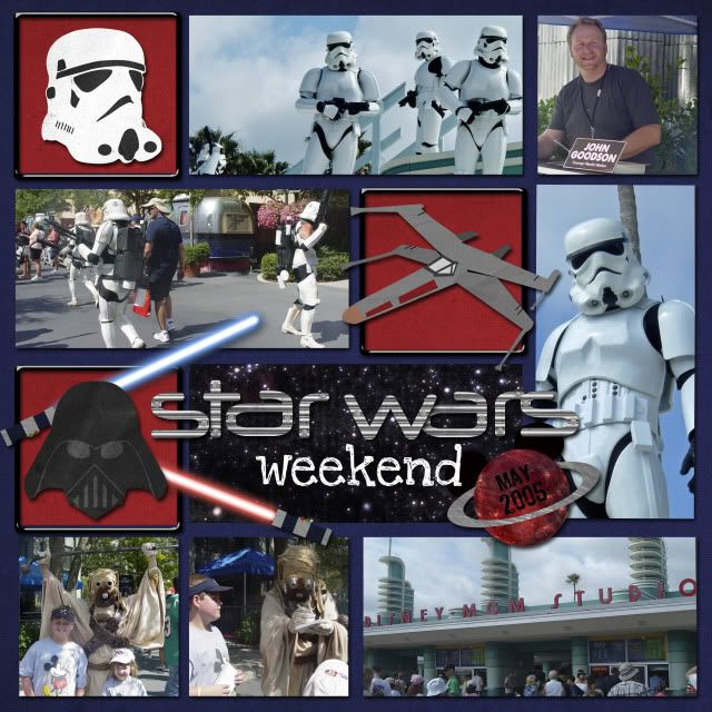 Star Wars Weekends - MouseScrappers.com