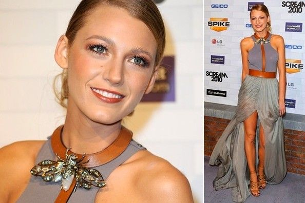 Blake Lively buggin' out.