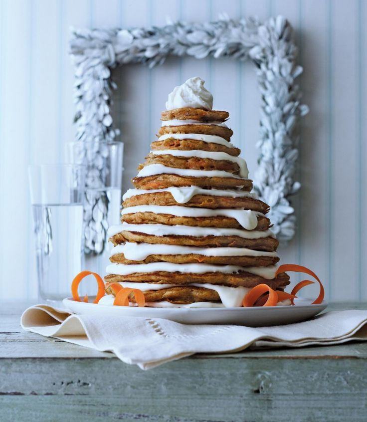 Carrot Cake Pancakes from Southern Living