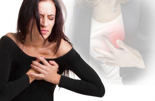 I sintomi di un infarto nelle donne sono diversi rispetto agli uomini