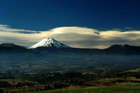 Volcán Lonquimay, Región de la Araucania, Chile.