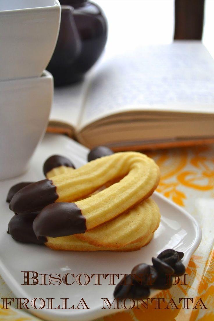 Ricetta biscotti di frolla montata