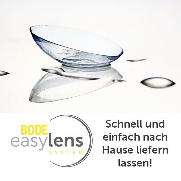 Lasst euch eure Kontaktlinsen und Pflegemittel bequem nach Hause liefern und das alles schon ab 11,90€ im Monat. Mehr erfahrt ihr auf unserer Homepage: https://www.optiker-bode.de/kontaktlinsen/easy-lens