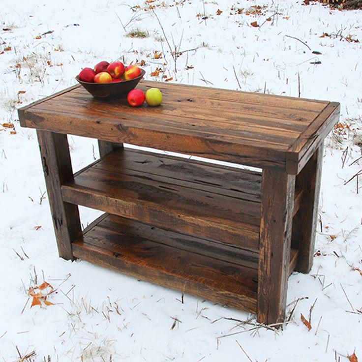 Rough Cut Rustic Coffee Table Niangua Furniture