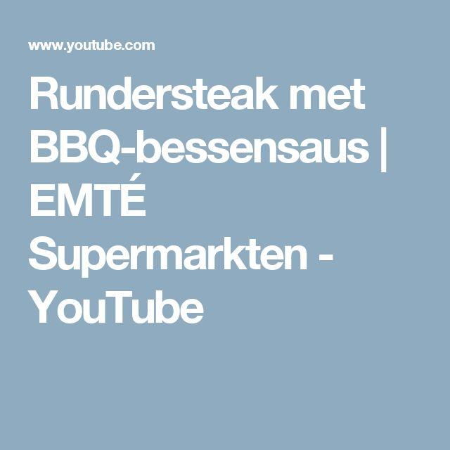 Rundersteak met BBQ-bessensaus | EMTÉ Supermarkten - YouTube