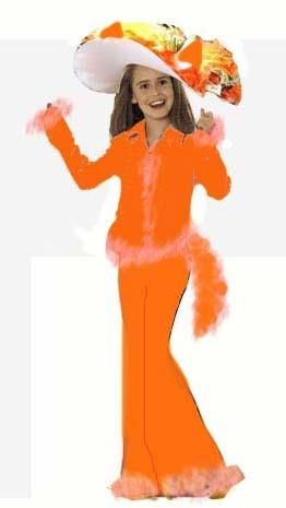 Как чделать новогодний костюм лисы алисы
