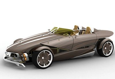 Mercedes-Benz RECY recycleable concept car 2006