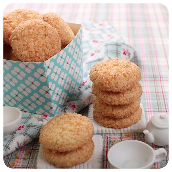 Biscoitinhos de Coco | Vídeos e Receitas de Sobremesas