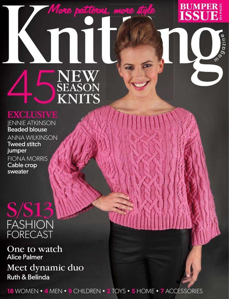 Knitting March 2013 - 轻描淡写 - 轻描淡写