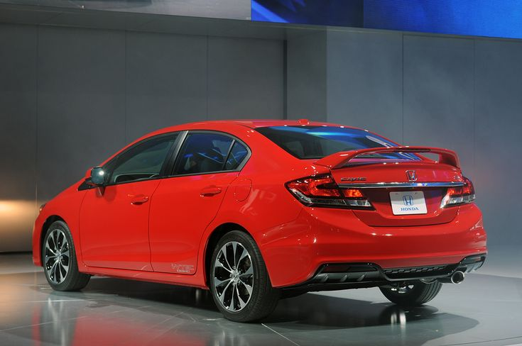 2014 Honda Civic Si Coupe Show - Best Car Blog : Best Car Blog