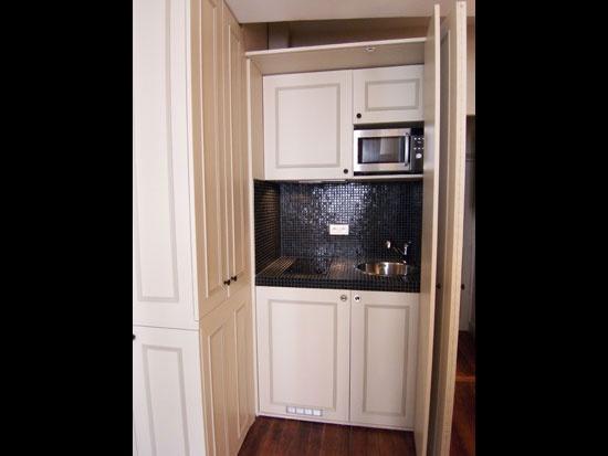 Wonderful Kitchen In A Closet.