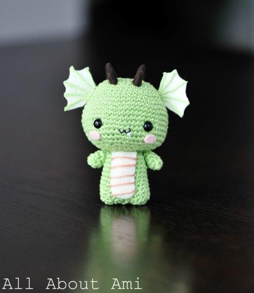 Amigurumi Dragonfly : Amigurumi dragon cute sew animals pinterest