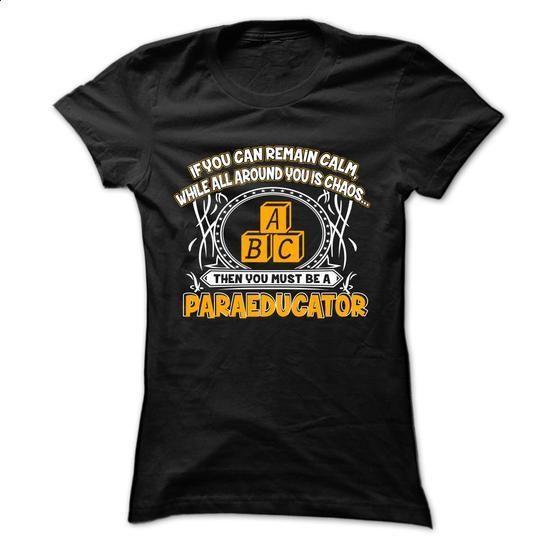 PARAEDUCATOR - t shirt design #fashion #style