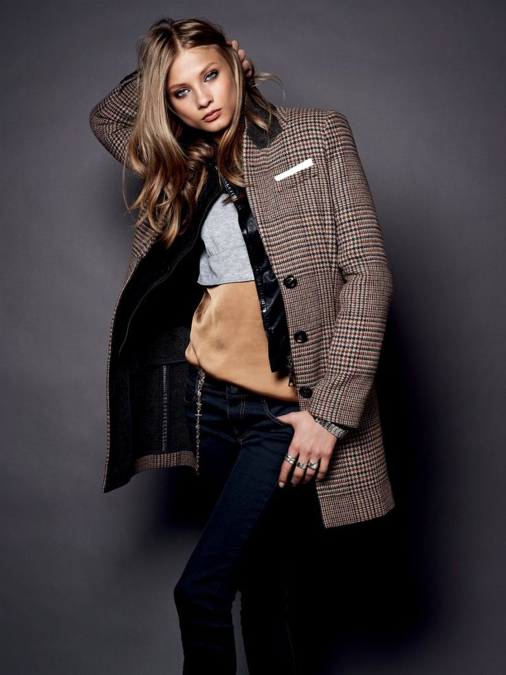 Anna Selezneva Sports Boyish Looks for Set's Fall/Winter 2012 Collection