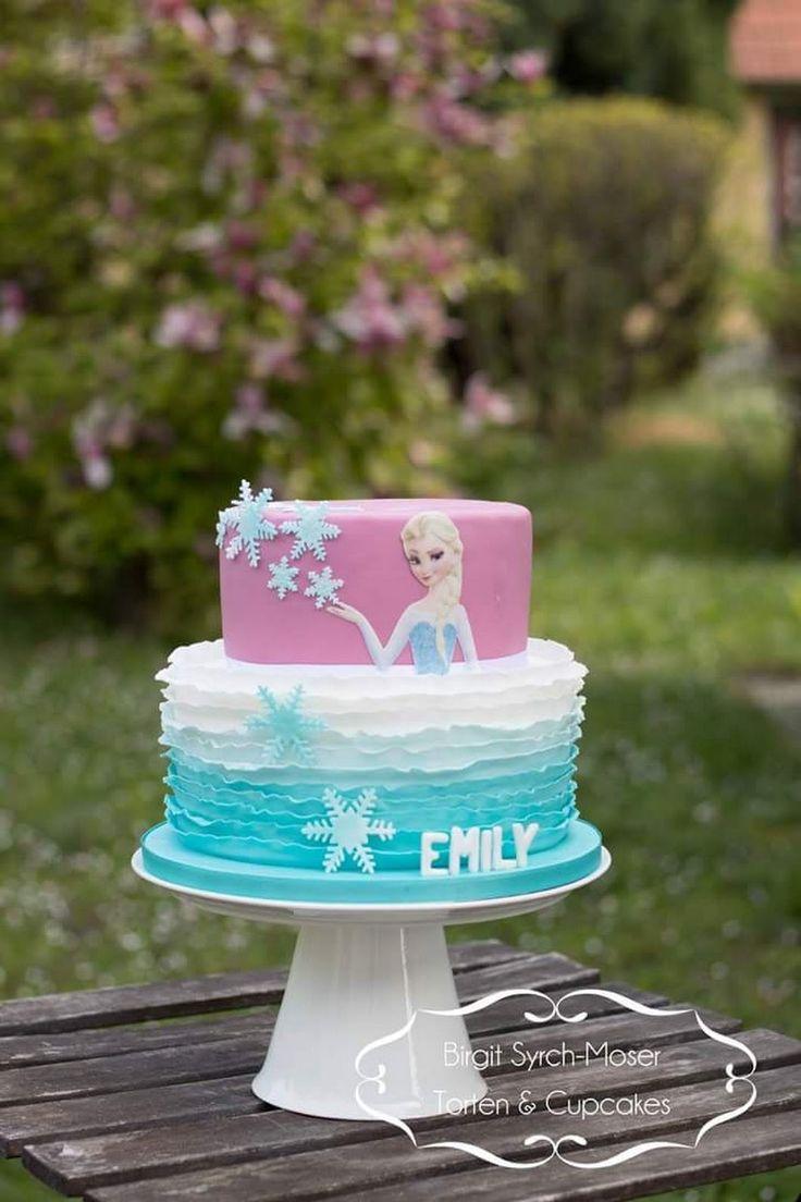 Frozen Birthday Cake - Birgit Syrch-Moser - Google+