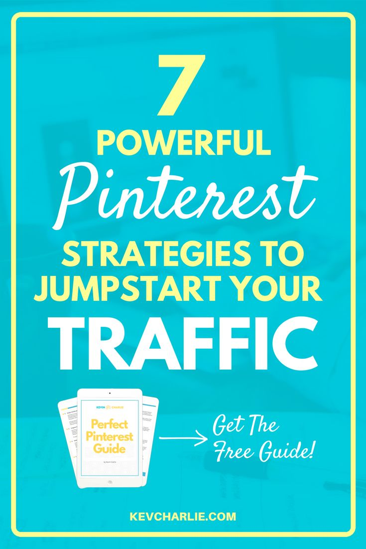 Thousands of successful online businesses are using Pinterest for blog traffic growth. Are you one of them? I am going to share the ultimate Pinterest marketing strategy guaranteed to drive more traffic to your blog. Plus, I am giving you a FREE guide to exponentially grow your traffic. Pinterest Marketing, Pinterest for business, grow your blog, grow your business. Kevin Charlie, Entrepreneur. #KevinCharlie #Entrepreneur #PinterestForBusiness #PinterestMarketing