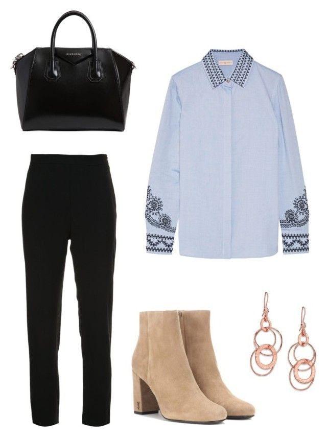 """""""Untitled #60"""" by fhk21 on Polyvore featuring Brandon Maxwell, Tory Burch, Yves Saint Laurent, Givenchy and Ippolita"""