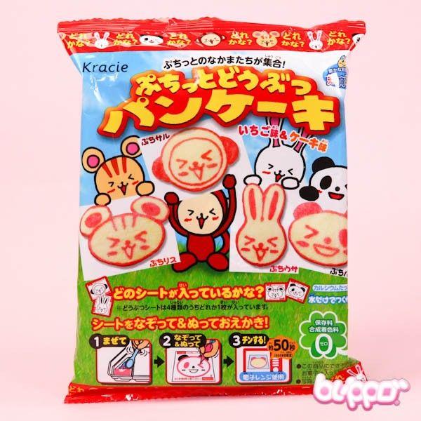 Kracie Animal Oekaki Pancake Diy Candy Kit Japanese Snacksjapanese