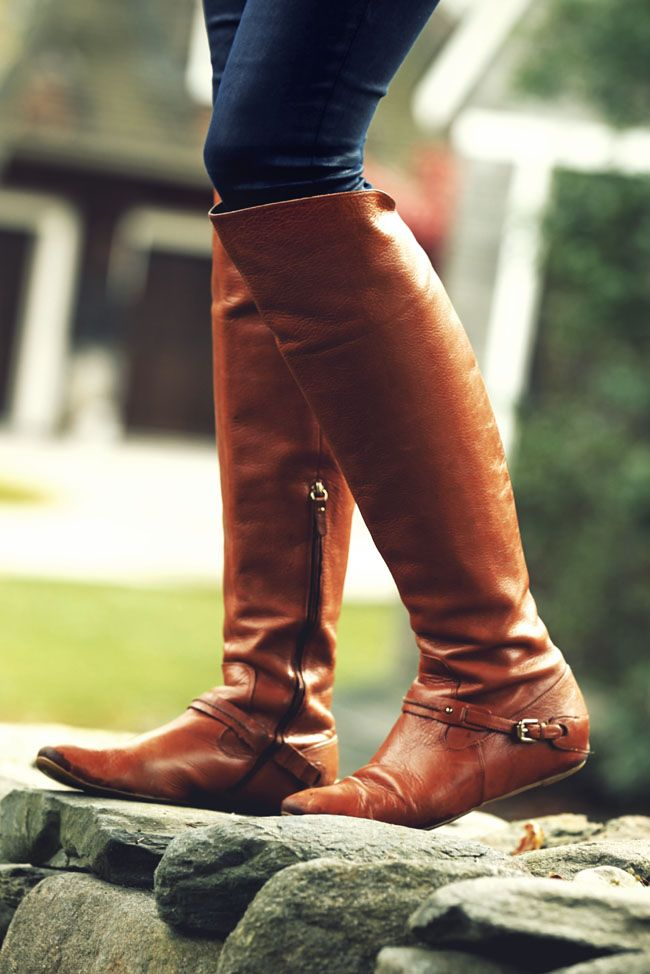 Riding Boots. The Royal Highness of the shoe world