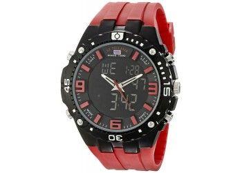 Reloj U.S. Polo Assn. R11003 deportivo rojo $125.000