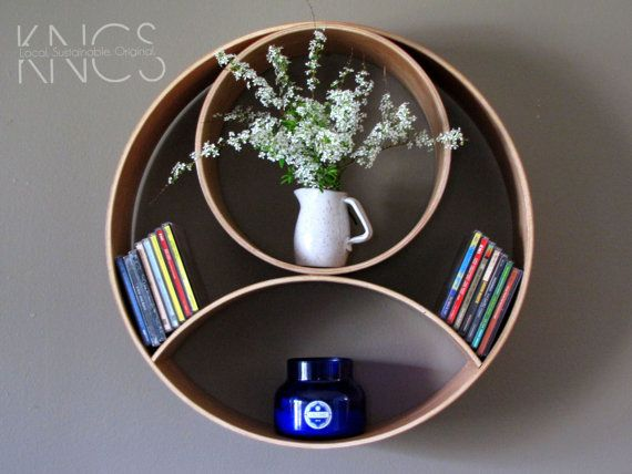 Items Similar To Maple Dahu Moon Shelving Unit | 22 In Diameter On Etsy