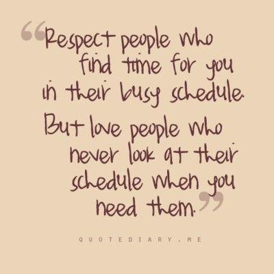 respect vs love