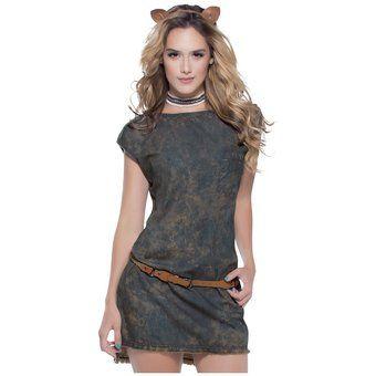Vestido Juvenil Para Mujer Marketing Personal 81875 Cafe
