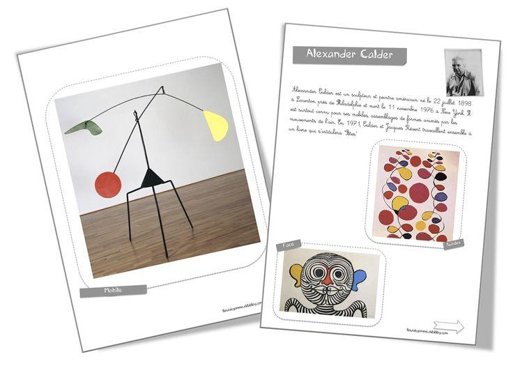 Fiche artiste : Alexander Calder - Bout de gomme