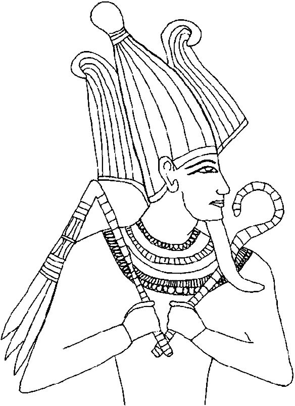 12 best images about egyptians on pinterest egypt for Pharaoh coloring pages