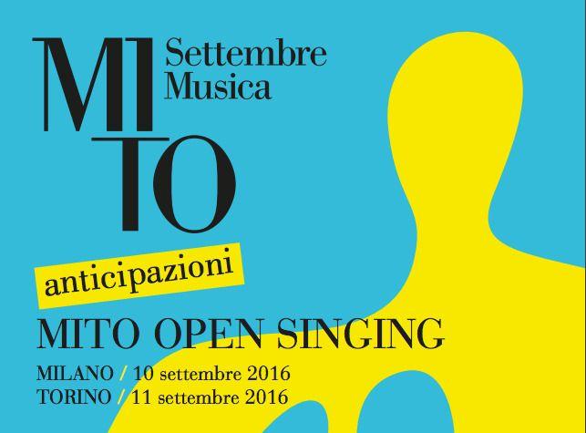 La decima edizione di MITO SettembreMusica 2016 irrompe in modo massiccio all'interno del festival la musica corale.Quest'anno ventuno cori provenienti da tut...