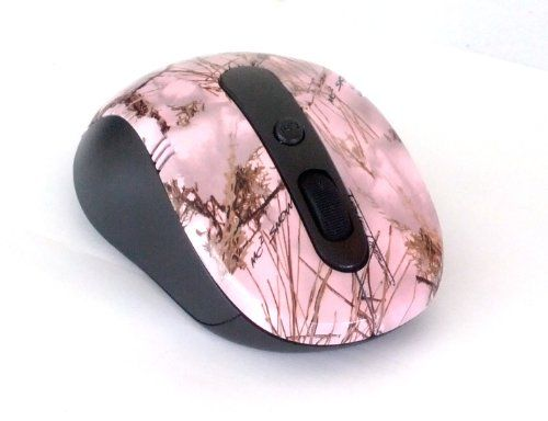 Country Girl Pink Camo Wireless Computer Scroll Wheel