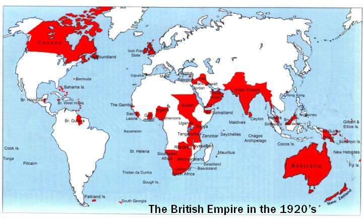 During this time period, the British Empire held a substantial position in world…
