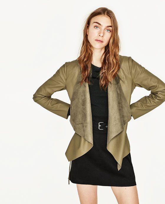 17 meilleures id es propos de veste simili cuir femme sur pinterest blouson simili cuir. Black Bedroom Furniture Sets. Home Design Ideas
