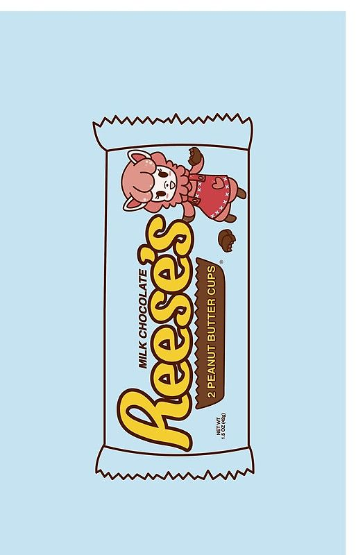 Animal crossing New Leaf Reese's Peanut Butter Cups by ZoeTwoDots