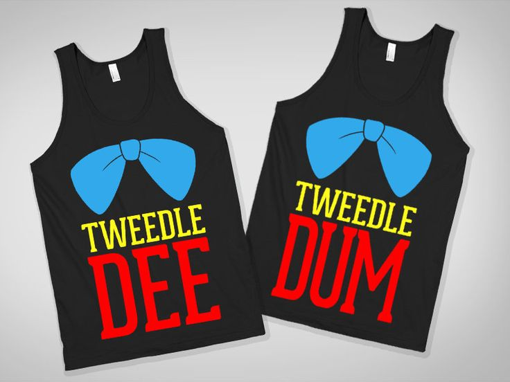 Tweedle Dee and Tweedle Dum Best Friend Shirts - Once Upon A Time - Skreened.com