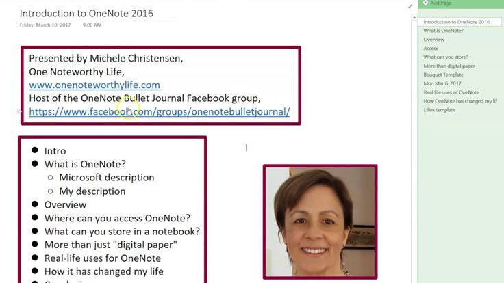 this is an introduction to onenote  a free notebook and