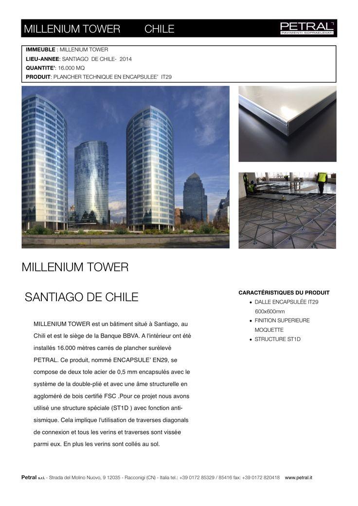 MILLENIUM TOWER CILE  FRANC