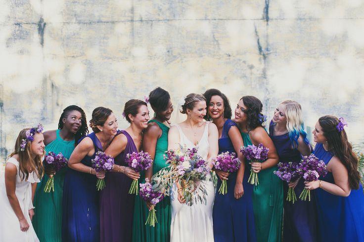 Jewel Toned SC Aquarium Wedding Miele Events